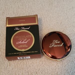 Too Faced Chocolate Gold Soleil Bronzer NWT